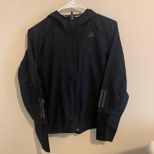 Small Black Adidas Windbreaker